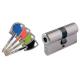 Cylindre de serrure double entrée Vachette Axi'Home A2P* - Profil Européen 30x40mm