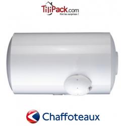 Chauffe-eau électrique Chaffoteaux 150L horizontal blindé raccordement bas