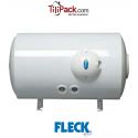 Chauffe-eau électrique 150l Fleck horizontal blindé raccordement bas