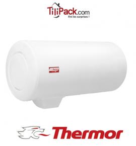 Chauffe-eau électrique Thermor DURALIS 100L horizontal stéatite raccordement bas