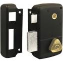 Serrure en applique verticale Cisa monopoint à fouillot 40mm - GAUCHE