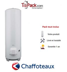Chauffe-eau électrique Chaffoteaux 250L stable stéatite
