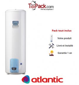 Chauffe-eau électrique Atlantic VIZENGO 300L, stable stéatite