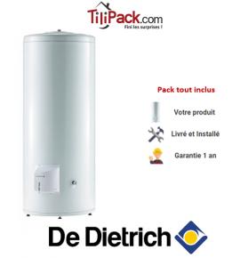 Chauffe-eau électrique De Dietrich CES 300L, stable stéatite
