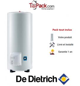 Chauffe-eau électrique De Dietrich Corémail THS 150L, stable stéatite