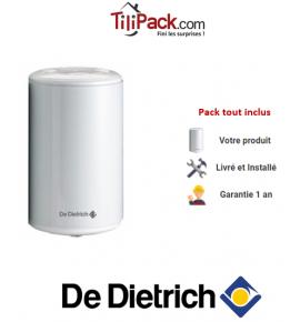 Chauffe-eau électrique De Dietrich Corémail sur évier 10L, résistance blindée
