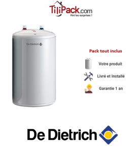 Chauffe-eau électrique De Dietrich Corémail sous évier 10L, résistance blindée