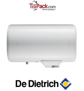 Chauffe-eau électrique De Dietrich Corémail THS 100L horizontal sortie basse