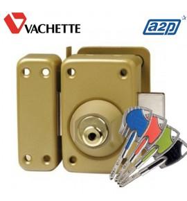 Verrou double entrée VACHETTE Axi'Home Radial NT A2P* 45mm