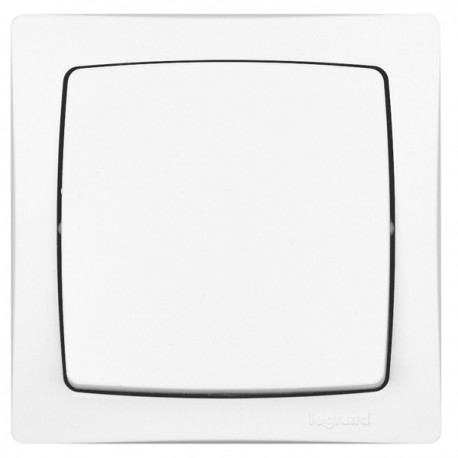 Interrupteur va-et-vient Legrand Otéo - Appareillage complet Blanc saillie