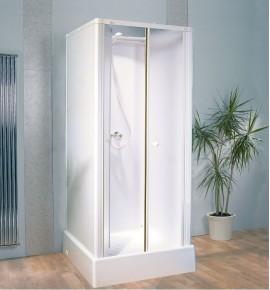 Cabine de douche complète Kinedo Delta 81 x 81 cm