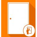 Ouverture de porte d'entrée spéciale claquée