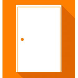 Réparation de porte blindée affaissée