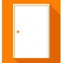 Réparation de porte normale affaissée