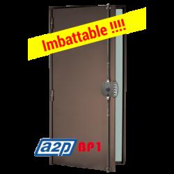 Porte blindée A2P BP1, Securystar Privilège - Serrure applique 3 points