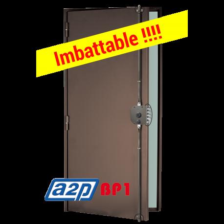 Porte blindée A2P BP1, Securystar Le Privilège, Serrure applique 3 points Senior 1410