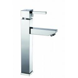 Robinet lavabo pour vasque Garis Kuro - Mitigeur monocommande rehaussé