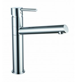 Robinet lavabo pour vasque Garis Ondys - Mitigeur monocommande réhaussé