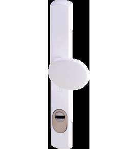 Ensemble de sécurité blindé, pour menuiserie étroite, Héraclès Salomé™, axe 70 mm