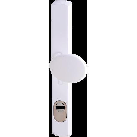 Ensemble de sécurité blindé Héraclès Salomé™, axe 70 mm - Blanc