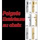 Blindage de porte double vantaux A2P BP1, Securystar Le Parisien 1, Serrure carénée 7 points