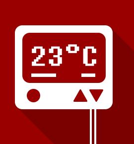 Choisissez parmi nos packs de thermostats d 39 ambiance avec - Thermostat d ambiance filaire ...