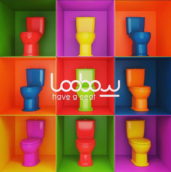 Loobow - WC colorés