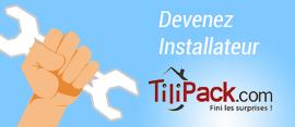 Professionnels et artisans, rejoignez le réseau d'installateurs Tilipack.com